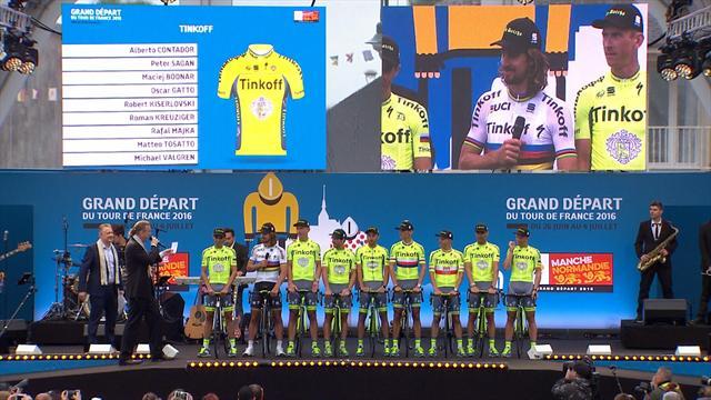 Ploegenpresentatie Tour de France