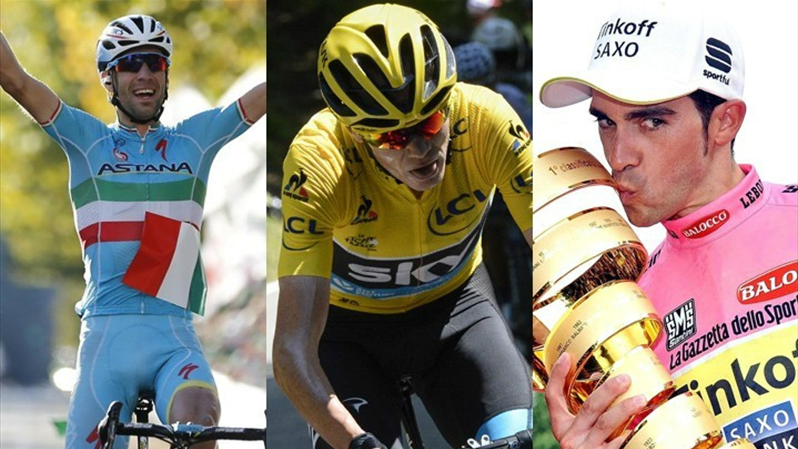 Nibali Froome Contador