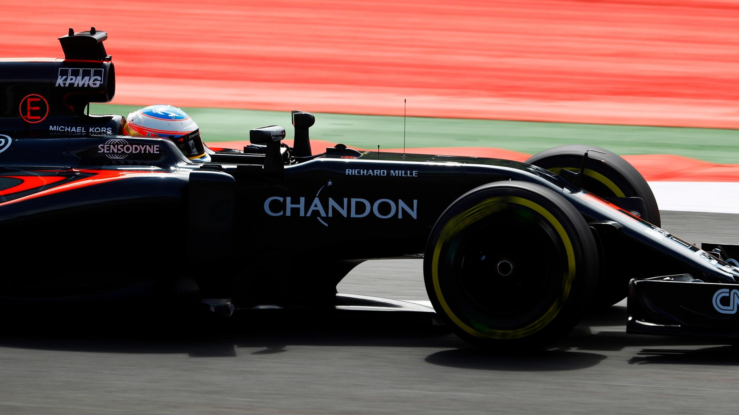 Fernando Alonso (McLaren) au Grand Prix d'Autriche 2016