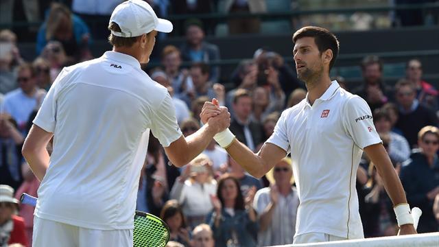Djokovic au tapis, séisme à Wimbledon