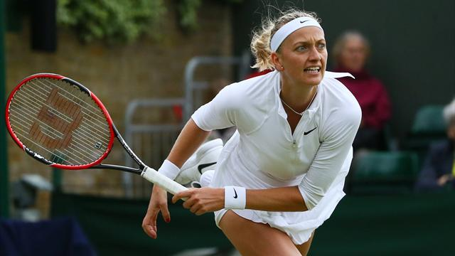Petra Kvitova through in Connecticut Open as she chases third straight title
