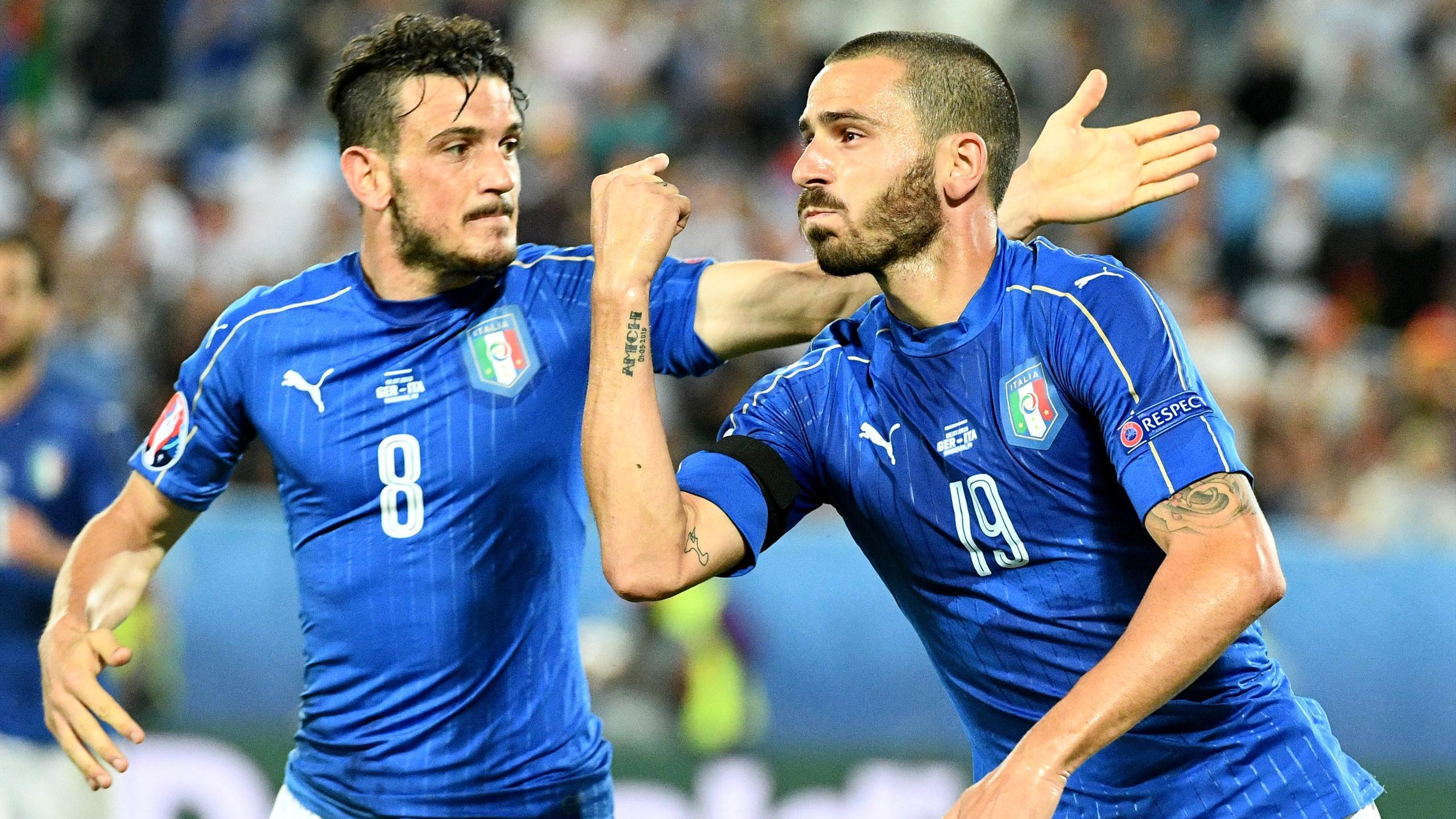Bonucci - Germany v Italy - Euro 2016