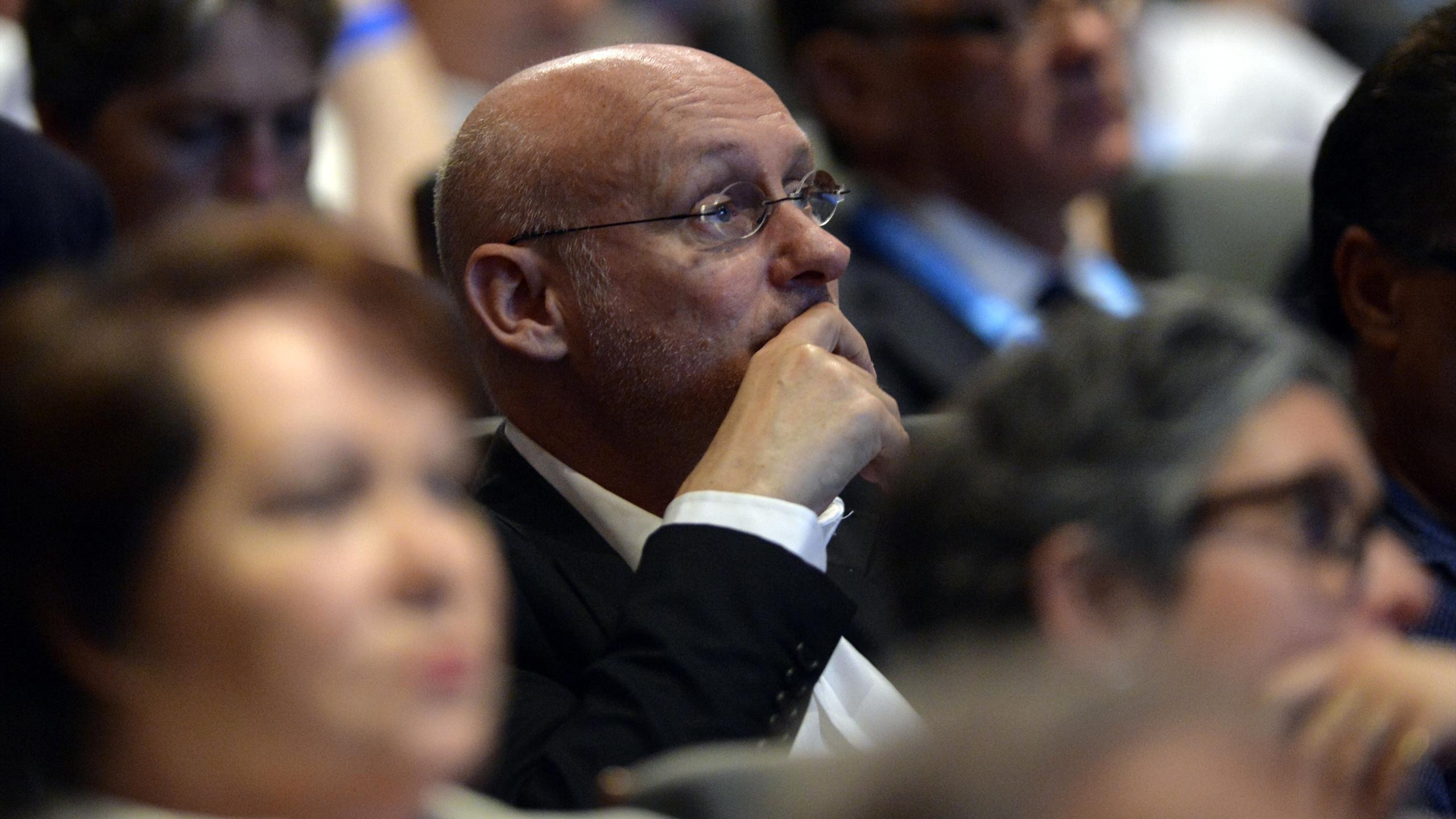 Bernard Laporte, candidat au poste de président de la FFR - 2 juillet 2016