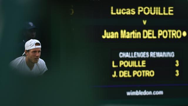 Pouille s'offre Del Potro et verra la deuxième semaine