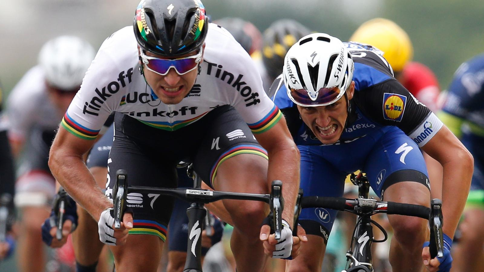Peter Sagan ends winless run to move into yellow