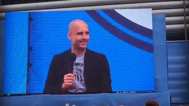 La réponse amusante de Guardiola à un supporter qui lui demande de recruter Messi à City