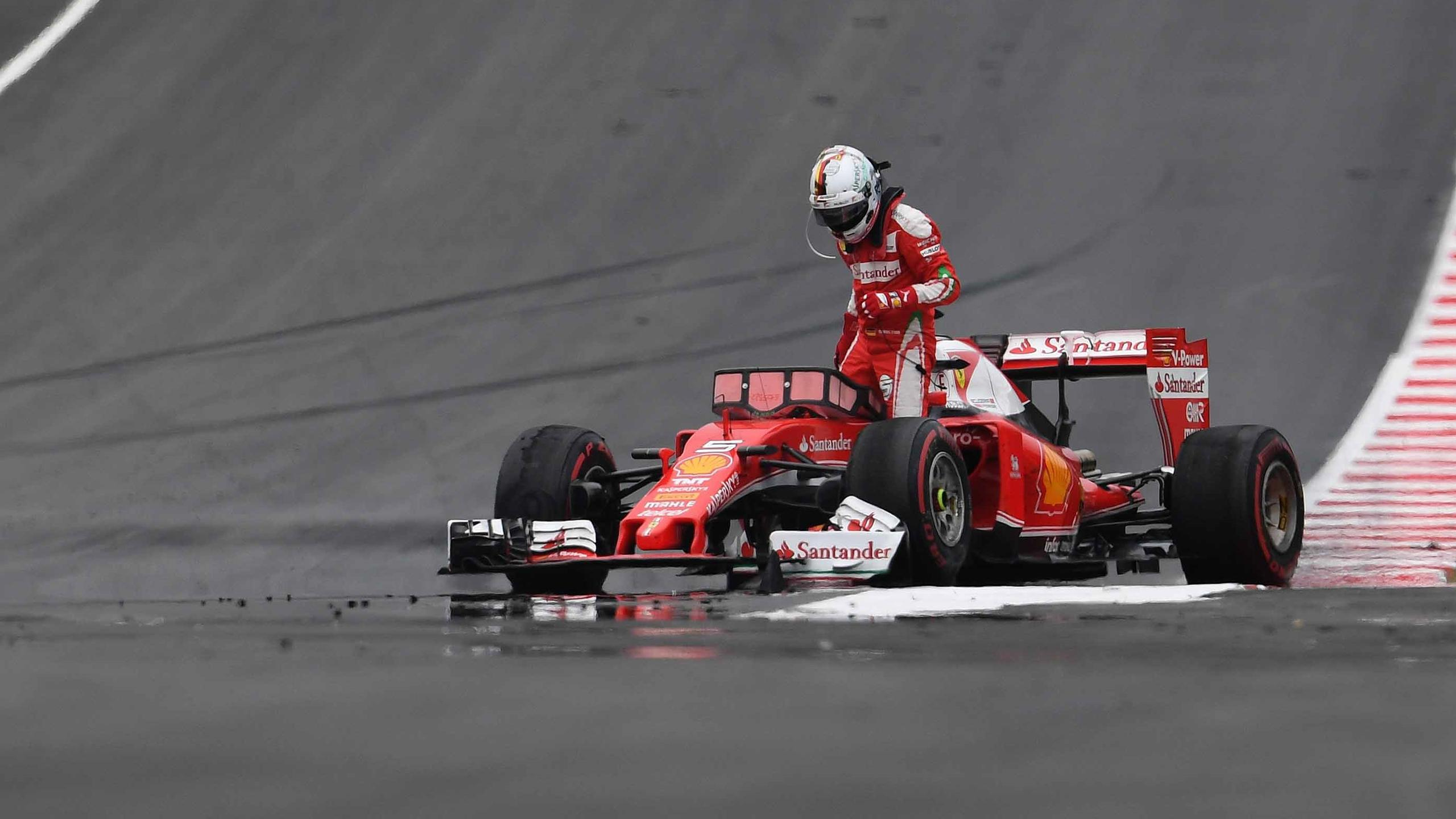 Sebastian Vettel (Ferrari) au Grand Prix d'Autriche 2016