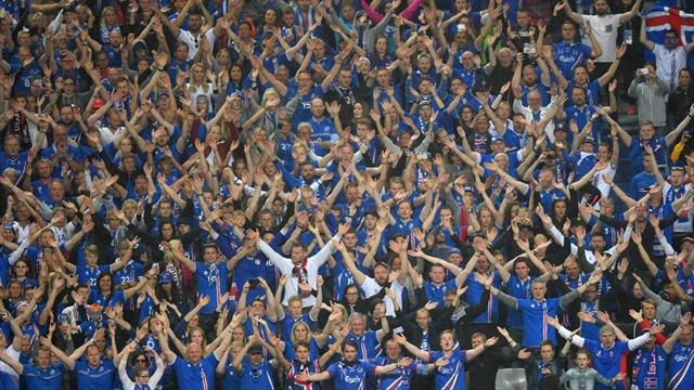 Pour fêter leur première qualif' au Mondial, les Islandais ont offert un joli clapping