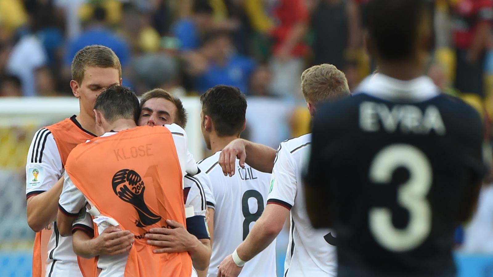 France allemagne que reste t il du quart de finale de la - Resultat foot feminin coupe de france ...