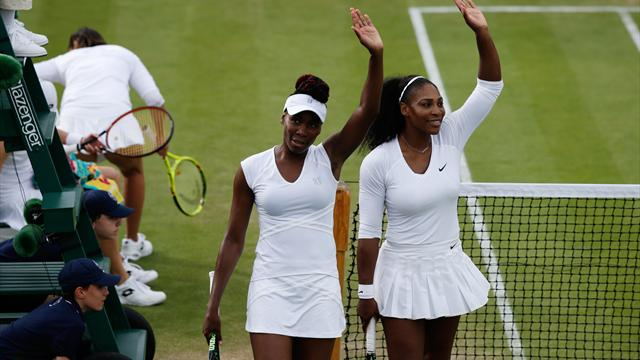 Williams sisters win sixth Wimbledon doubles title