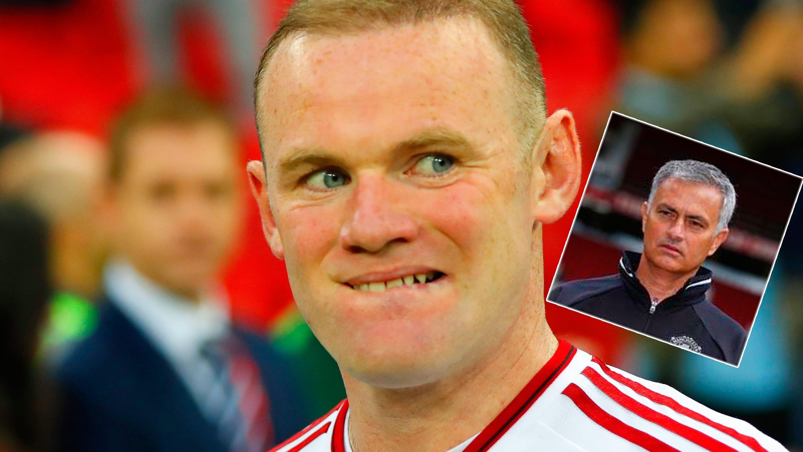 Jose Mourinho 'ends Wayne Rooney's midfield career'
