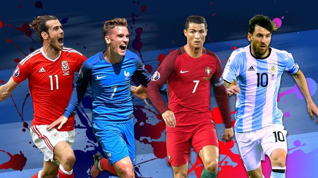 Griezmann et Ronaldo parmi les 10 finalistes du meilleur joueur UEFA, Grigg et Nkoudou cités