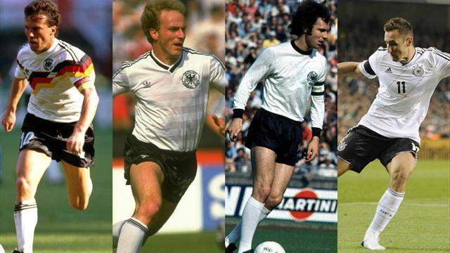 Matthäus, Rummenigge, Beckenbauer… Le Top 10 des grands joueurs allemands de l'histoire