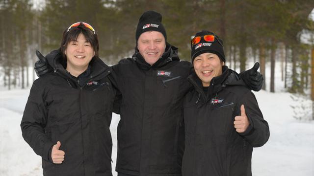 Японцы, которых тренирует Мякинен, выступят на Ралли Эстонии
