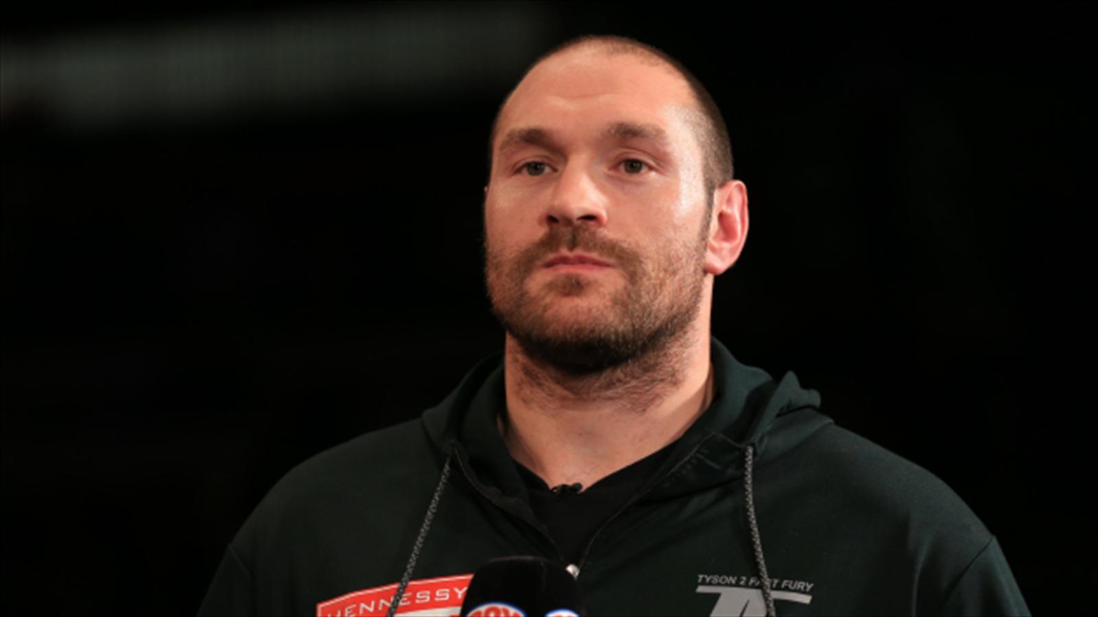 Tyson Fury Claims Wladimir Klitschko Re Match Will Take
