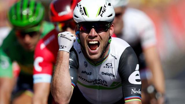 Otro final de locura para Mark Cavendish en el Tour de Francia