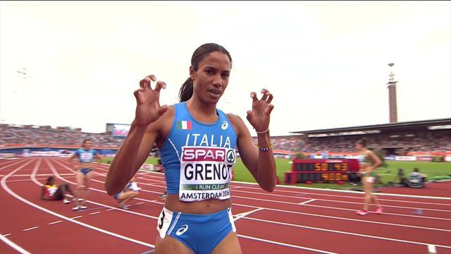 Europei, Libania Grenot entra in finale col miglior tempo