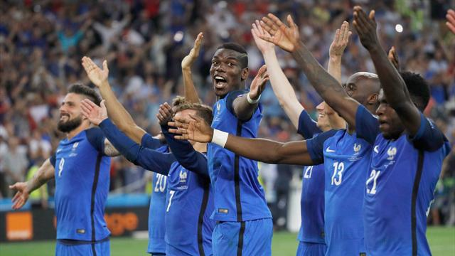 France topple Germany to reach Euro 2016 final