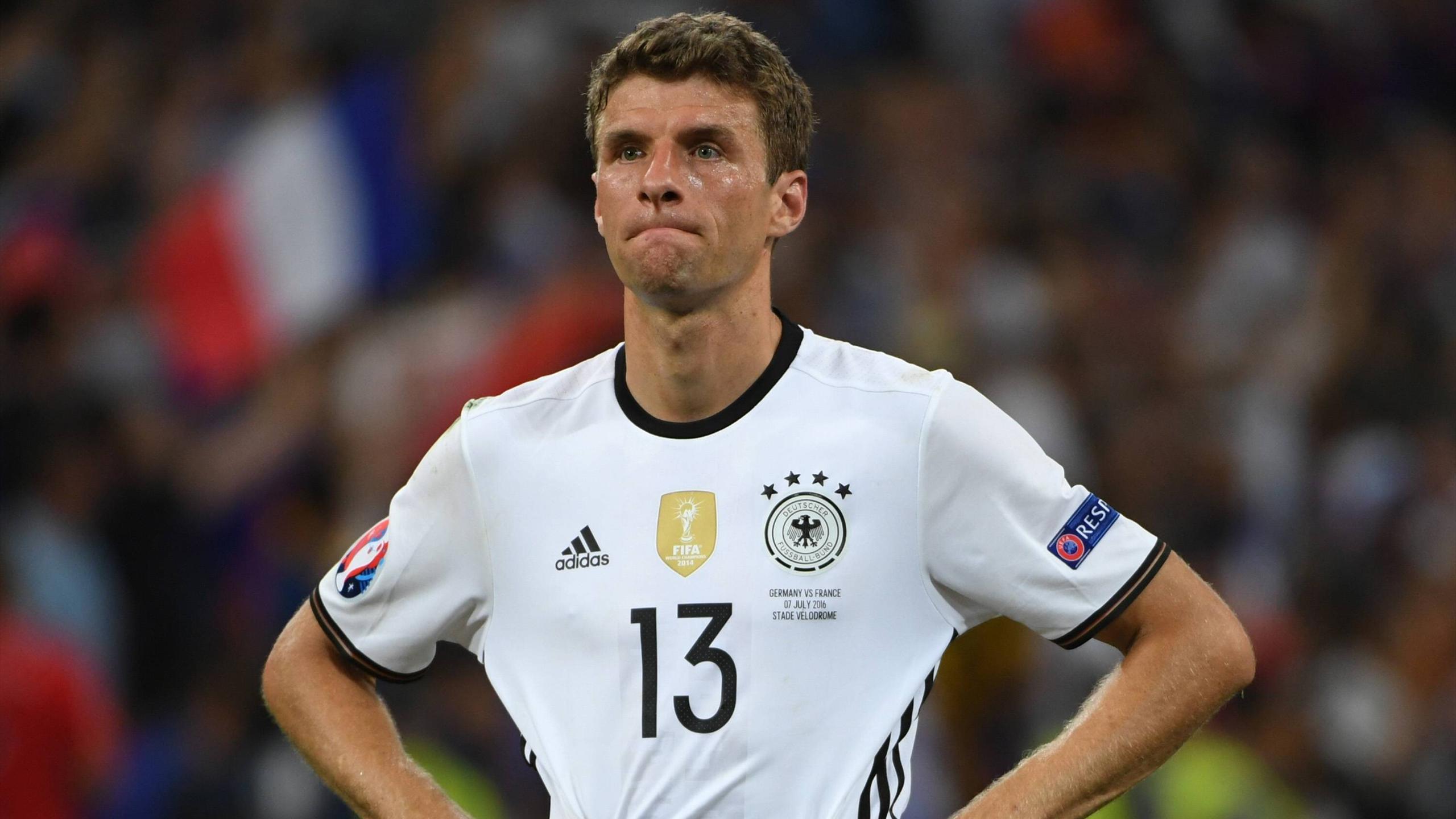 Thomas Müller n'a pas eu le rendement attendu face à la France
