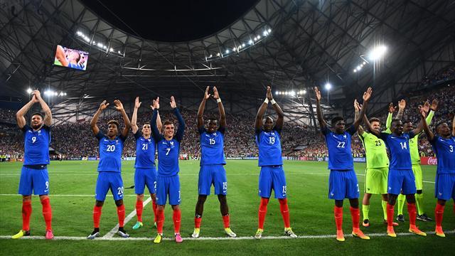 L'antisèche : Jeudi 7 juillet, Marseille, une grande équipe est née