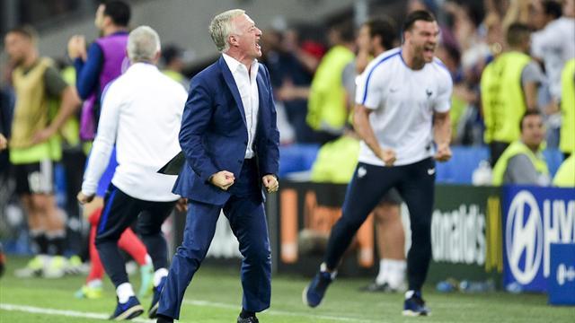 Vue d'Europe, l'équipe de France «mérite de gagner l'Euro» et Deschamps y est pour beaucoup