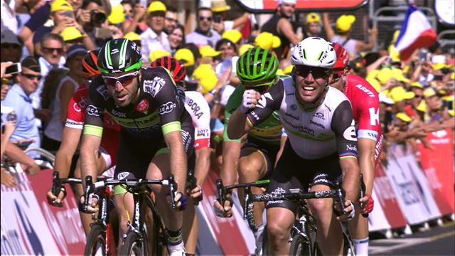 'I knew I wanted Marcel Kittel's wheel' says Cavendish after epic win