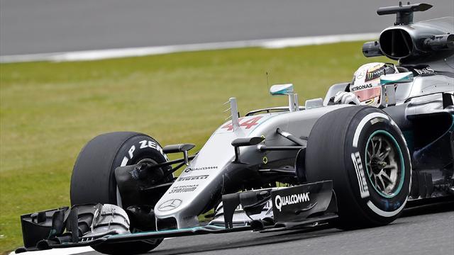 Hamilton domina, Rosberg tropieza con la mecánica y Alonso mejora