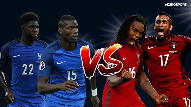 Pogba-Sanches, Umtiti-Nani… Griezmann-Ronaldo ne sera pas le seul duel clé