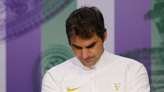 Federer : «Celle-là, elle fait mal, clairement»