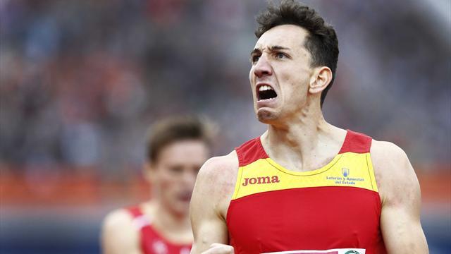 Europeos de Amsterdam 2016: Histórica medalla de plata de Sergio Fernández en 400 metros vallas