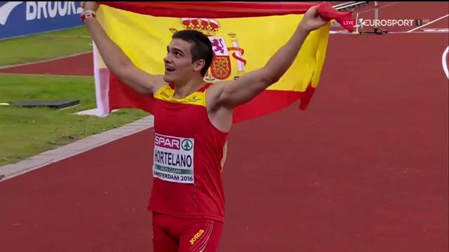 Histórica medalla de plata de Bruno Hortelano en la final de 200