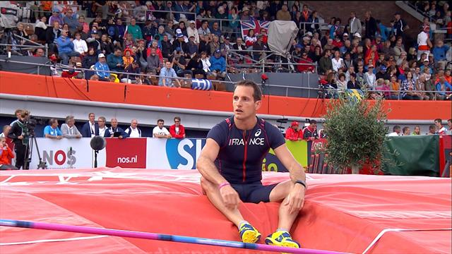 Lavillenie crashes out of pole vault final on opening height