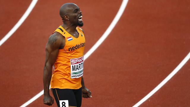 Martina réussit le doublé 100-200m avant d'être disqualifié