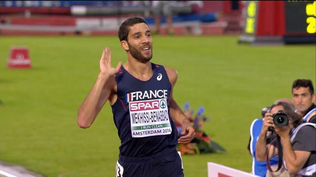 Mahiedine Mekhissi wins 3000m steeplechase