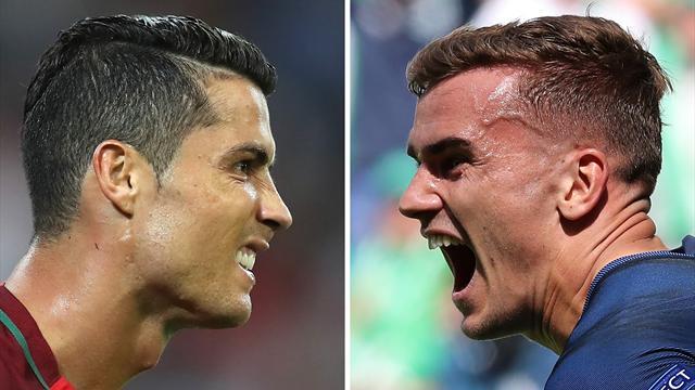 Griezmann – Ronaldo : si loin, si proches