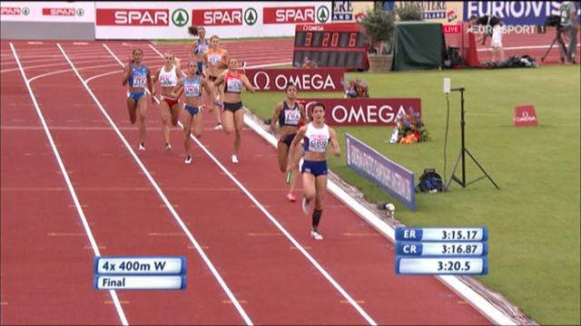 Straordinaria Grenot: Italia bronzo nella 4x400 donne