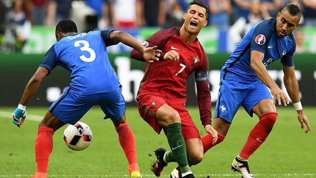 Eurocopa 2016: Cristiano, víctima de Payet y de una vieja táctica del fútbol