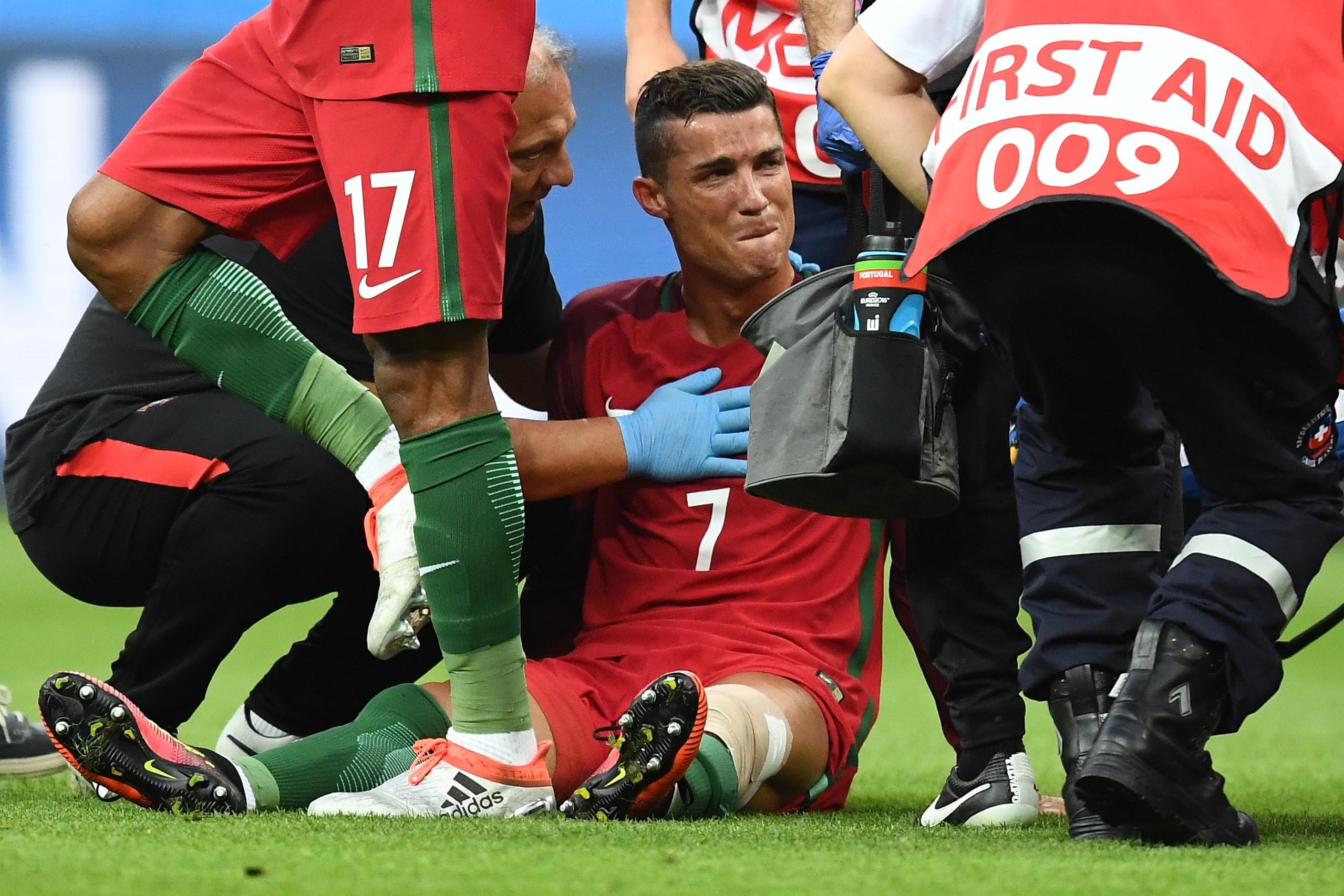 Травма Роналду
