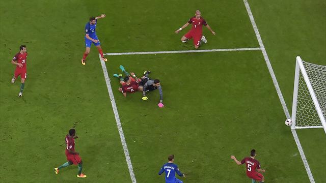Seul le poteau a empêché Gignac d'offrir le titre aux Bleus à la 90e minute…