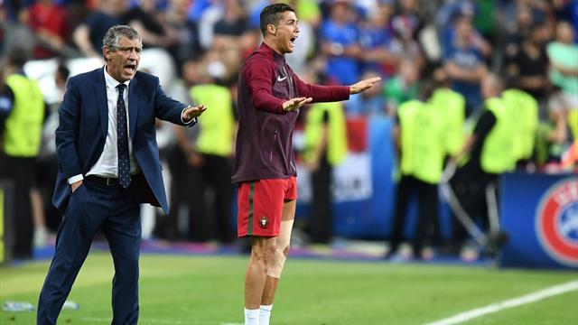 Моуринью: «Роналду никак не помог Португалии своим поведением в конце финала Евро-2016»