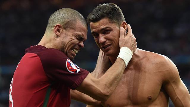 Роналду: «Пепе был лучшим игроком Евро-2016»