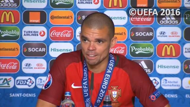Pepe : «Il fallait qu'on gagne pour Cristiano»
