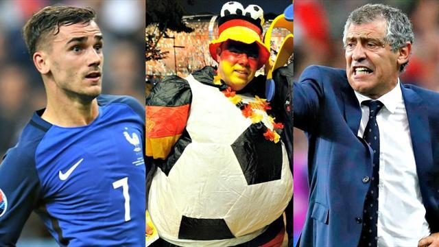 Griezmann, Nelson, Quaresma : nos Oscars de l'Euro 2016