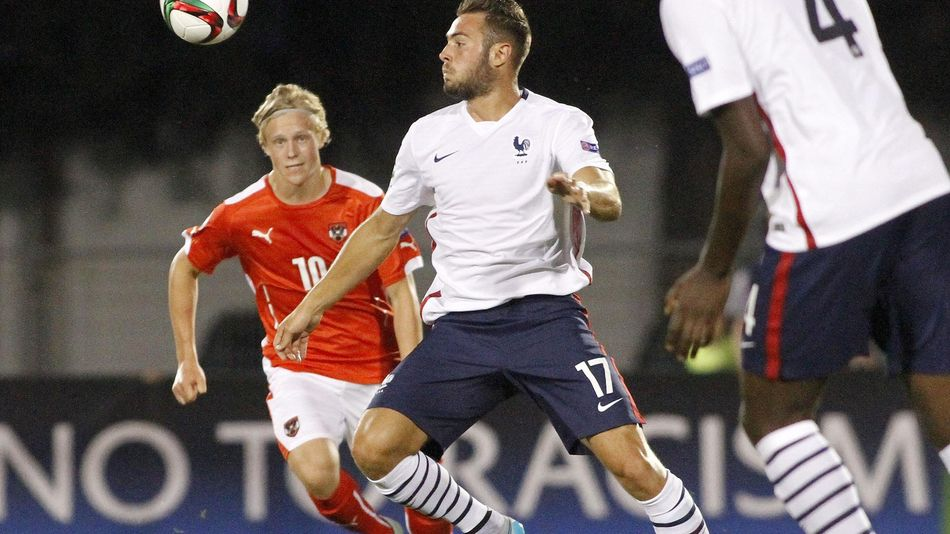 Lucas Tousart en équipe de France U19