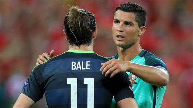 Gareth Bale fails to join club-mate Cristiano Ronaldo in team of Euro 2016