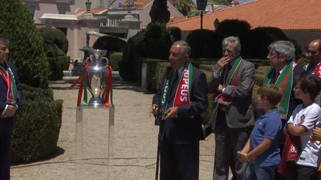 'Not an accident, not luck - they are the best': Portuguese president heaps praise on team