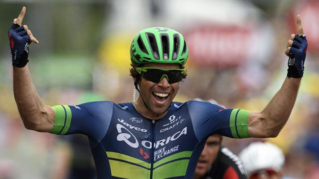 Matthews denies Sagan to win stage 10, Froome retains yellow