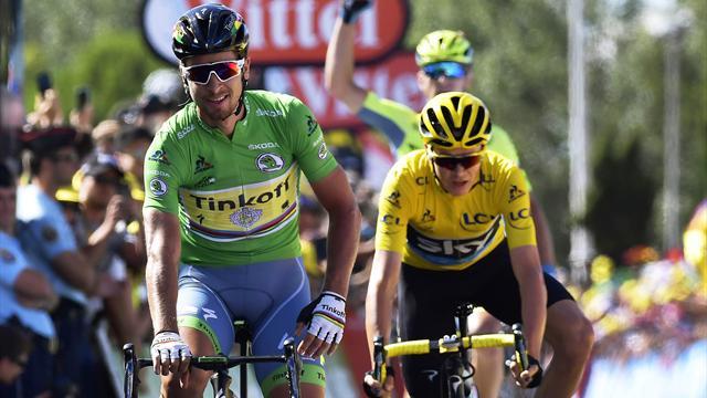 Sagan a réussi un improbable coup de Trafalgar, avec Froome dans sa roue