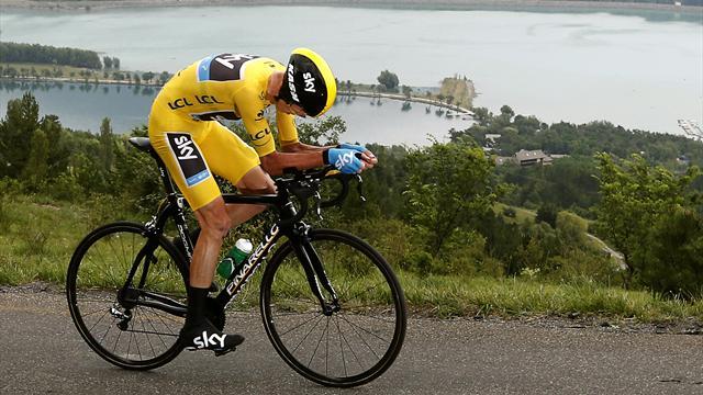 Фрум выиграл разделку в гору на 18-м этапе