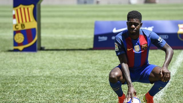 Quand il a su que le Barça le voulait, Umtiti «a eu quelques larmes»
